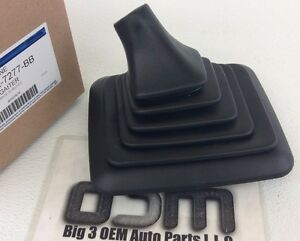 99-07 Ford F250 7.3L 6.0L Diesel Super Duty Manual Transmission Shifter Boot OEM