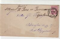 Germany 1881 Quakenbruck Cancel Stamps Cover Ref 31249