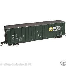 Atlas # 50002142  50' Plug-Door Boxcar British Columbia Railway # 851014 N MIB