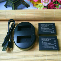 NP-W126 W126S Battery or Charger for Fuji HS50 HS30EXR XA1 XE1 XE2 X-T1 X-T10