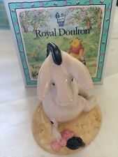 "Royal Doulton""Eeyore's Tail"" WP7 Winnie the Pooh boxed new"