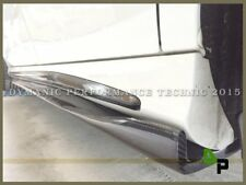 RZ Carbon Fiber Add-on Side Skirt Lip For M-BENZ W117 AMG CLA180 CLA200 CLA250