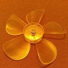 5-9/16 inch diameter Plastic Fan Blade/Propeller. 3/16 inch bore. CCW Rotation.