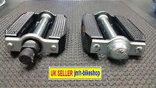 VINTAGE BIKE BICYCLE Pedal set Rubber pair raleigh BSA roadster
