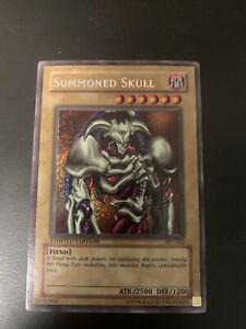 Yugioh - Summoned Skull - BPT-002 - Secret Rare - Limited Edition NM