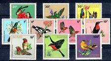 OISEAU Rwanda 10 val de 1972 ** - BIRD VOGEL UCCELLO