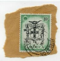 Jamaica - SG# 173 Used / On Piece   -   Lot 0820051