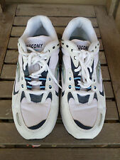 Saucony White and Blue Athletic Shoes Women's 9.5