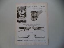 advertising Pubblicità 1973 TOMMASELLI MANUBRI