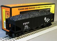 MTH RAIL KING PITTSBURGH & WEST VA  HOPPER COAL CAR LOAD o gauge train 30-75415