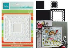"MARIANNE CRAFTABLE DIES - ""PASSE_PARTOUT SQUARE""  CR1240  FOR CARDS & SCRAPBOOK"