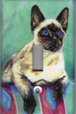Siamese Cat Home Wall Decor Light Switch Plate