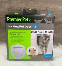 Premier Pet Locking Pet Door for Cats or Small Dogs up to 25 Pounds - New!