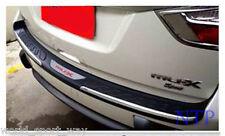 Tail Rear Door Bumper Protect Step Cover Trim For New Isuzu Mu-x Mux SUV 2014 15