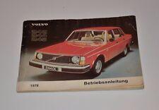 Volvo 242 244 245 Betriebsanleitung