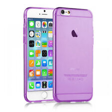 iPhone 6S Purple Case Silicone Gel Protective Back Bumper Cover