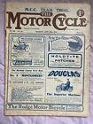 THE MOTOR CYCLE  June 20th 1912 Magazine (Veteran Motorcycle)