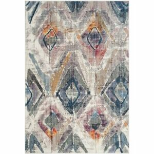 Safavieh Taulbee BTL356P Transitional Rug, Lavender/Light Grey, 68 x 243cm