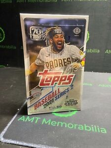 2021 Topps SERIES 2 SEALED HOBBY BOX FREE PRIORITY SHIPPING + SILVER PACK