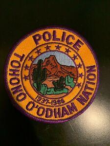 ARIZONA, TOHONO O'ODHAM NATION TRIBAL POLICE PATCH