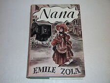 NANA by EMILE ZOLA (PUBLISHER: MODERN LIBRARY) HARDCOVER
