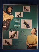 Vintage Magazine Ad Print Design Advertising Vitality Womens Shoes