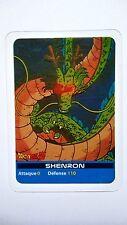 Carte LAMINCARDS Dragon ball Z Shenron 126