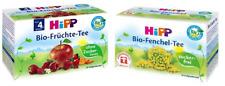 Hipp Set Organique Fenouil thé et fruits thé pour bébés 2 x 20 Intercalaires