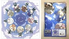 Norn9 Chara X Cushion Cover #54 Group Shot Gift Otomate Idea Factory Licensed NW