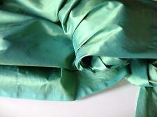 "Shot Pistachio Colour 100 Silk Dupion Fabric 54"" Listing for 1/2 Half Metre"
