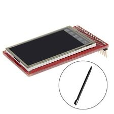 """3.3V TFT LCD 2.0"""" Touch Screen Breakout Board With Touch Pen For Arduino New"""
