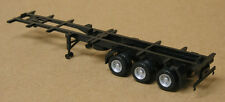 Promotex/Herpa #5316 HO tri axle 48' container chassis black, 1/87 , plastic