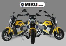 Moto électrique SUNRA Miku Super 3000W  40AH Double Batteries