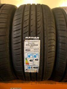 1 x tyres 235/40R19 96Y RADAR DIMAX R8+ XL 2354019