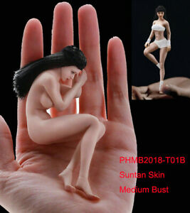 TBLeague 1/12 Phicen Female Figure Body Model Suntan Seamless Doll PHMB2018-T01B
