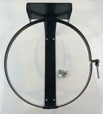 Propane LP Gas Tank Mounting Ring with Bracket for Regulator