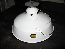 Abolite White Porcelain Barn Light