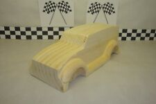 Pinewood Derby Pre-cut, #133LS Grave Digger, Rounded Fenders! Under 5 OZ, LOOK!