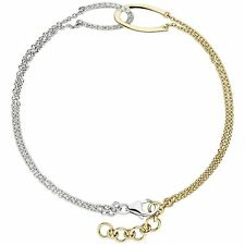 Precious Metal Without Stones 14k Gelbgold Schicke Link Damen Armband 19.1cm