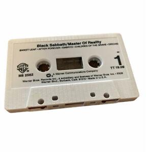 Black Sabbath - Master Of Reality Cassette Tape 1971 - No Insert