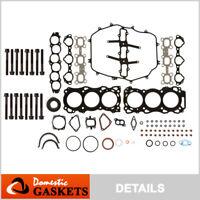 Full Gasket Set Bolts Fit 03-04 Nissan 350Z Infiniti G35 FX35 3.5L VQ35DE
