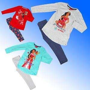 Girls Pyjamas Disney Princess Elena Avalor  Age 4 5 6 8 Years
