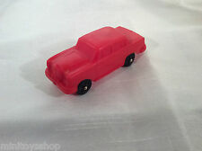 Vinyl Line Mercedes Benz 250 Vynil Gummi W. Germany Model Car (Red) !