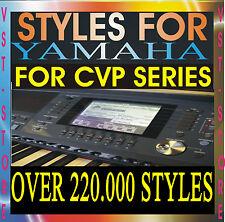 YAMAHA STYLES CVP-509 CVP-505 CVP-503 CVP-405 CVP-407 CVP-409 305 307 309 CVP