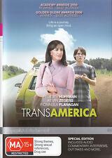TRANSAMERICA Felicity Huffman DVD R4 - PAL - New      SirH70
