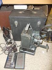 Cine film projector PILLARD BOLEX 916 9.5mm &16mm+ accessories  no power + CASE