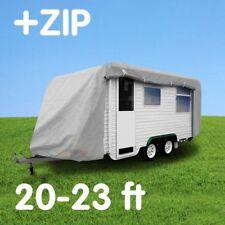 Caravan cover with zip: 20-23 ft