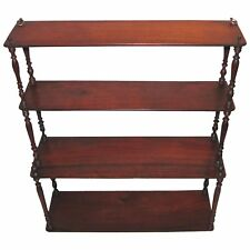 Antique English Georgian Mahogany Wall Shelf Circa 1790