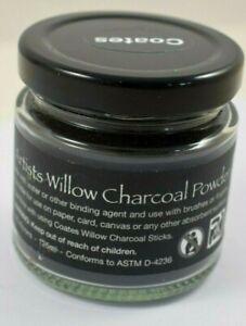 Coates Artists Willow Charcoal Powder 125 ml Jar         #W30-6