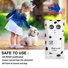 Anti Bark Device Ultrasonic Dog Barking Control System Stop Repeller Trainer AU